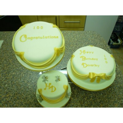 Three Tier Birthday Cake
