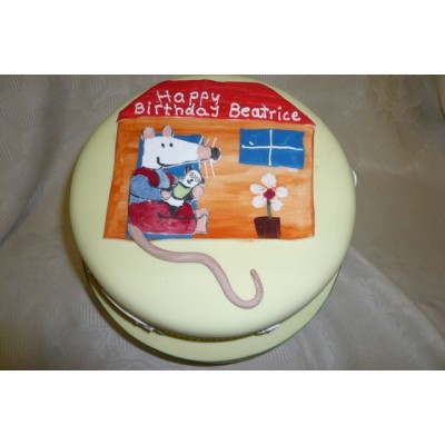 Mouse character cake