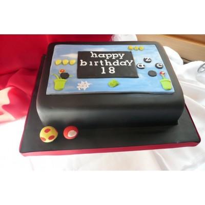 Nintendo Birthday Cake