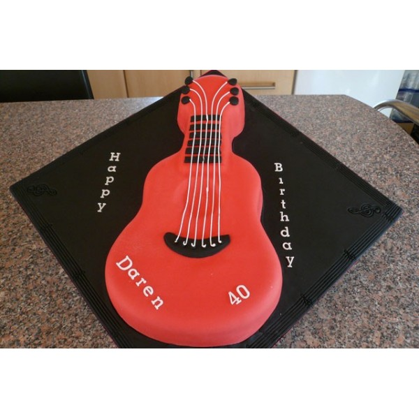 Guitar Cake Images With Name : Guitar Cake - Celebration Cakes by Carol