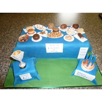 Cake Stall Theme Cake