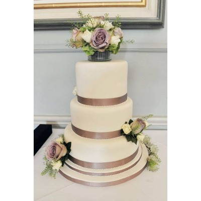 Large Three Tier Wedding cake