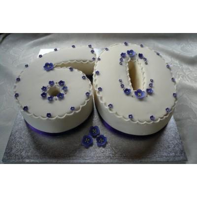 60 Number Cake