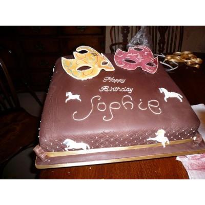 Theatre theme Birthday Cake