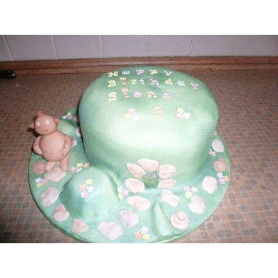 In The Night Garden theme Cake