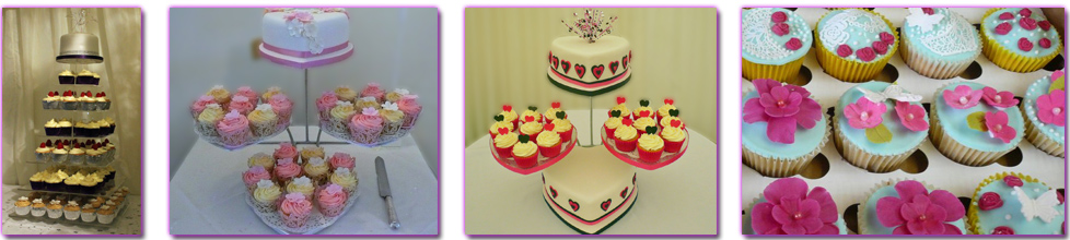 Cupcakes for Weddings by Celebration Cakes by Carol